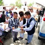 Llevan Trámites y Servicios a las Comunidades Más Alejadas en los 46 Municipios