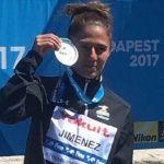 La mexicana Adriana Jiménez gana medalla de plata en mundial de clavados
