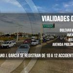 El Mariano J. García, Solidaridad y… vialidades de peligro