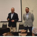 Presenta secretario de salud a nuevo director del Hospital Comunitario de Abasolo