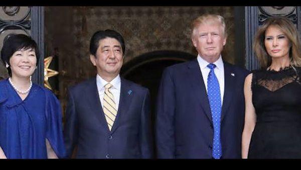 Photo of Trump es ignorado por primera dama de Japón