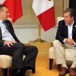 Presenta Gobernador acciones comerciales e intercambio estudiantil con Canadá