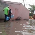 SSC  implementa operativo por lluvia extraordinaria que generó anegaciones en comunidad de La Luz