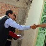 Visita Moisés Cortéz a beneficiarias de programas de emprendimiento