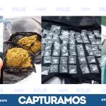 Detienen a dos distribuidores de droga en Romita; aseguran más de 2 mil narcóticos