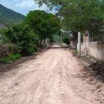 Continúan acciones de rehabilitación para vías de acceso en Pénjamo