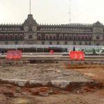 """Descubren enterrado """"el verdadero"""" zócalo de Ciudad de México que nunca fue terminado"""