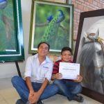 Concluyen cursos  de Panadería y  Pintura al Óleo en el Centro Impulso
