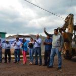 Arranca obra de pavimentación en comunidad de San Gregorio
