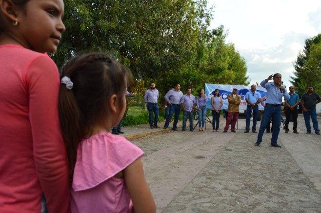 Photo of Arranca Alcalde rehabilitación del camino a Sarteneja