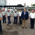 Secretario de Seguridad Ciudadana reconoce a Protección Civil y Bomberos
