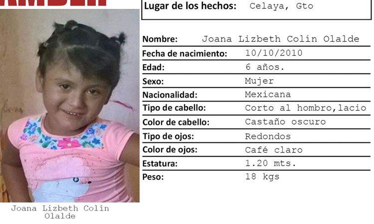 Photo of Joana de 6 años, fue encontrada muerta al lado de las vías del tren; la buscaban sus papás
