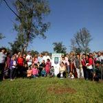 """Reforesta municipio """"Un Bosque Para Todos"""" en unidad deportiva del Ecofórum"""