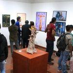 Inauguran tercera muestra plástica en el museo de la ciudad