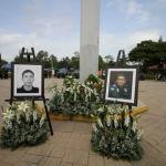Rinde municipio homenaje póstumo a policías caídos