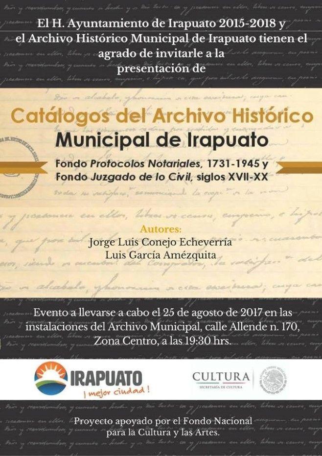 Photo of Asiste a la presentación de Catálogos del Archivo Histórico Municipal