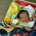 Francisco Javier requiere pañales, comida y especialmente a su mamá