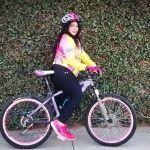 Belinda Gutiérrez, activista del ciclismo en Irapuato