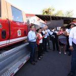 Tenemos uno de los mejores cuerpos de bomberos del país señaló Ricardo Ortiz