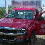Recuperan en Huanímaro un camión de empresa gasera presuntamente robado horas antes en Michoacán