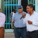 Alcalde arranca urbanización en la comunidad con una inversión de 7.2 millones de pesos
