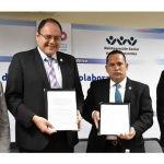 Firma convenio de colaboración la SSPE con la UVEG