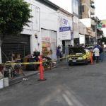 Desalojan locales en calle Ignacio Allende por supuesta falta de pago