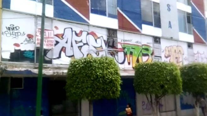"Photo of Los grafitis del Centro Histórico; ""vandalismo"" o ""arte"""