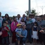 Arrancan Moy Cortéz y  Erandi Bermúdez la   pavimentación en la calle principal de La Regalada