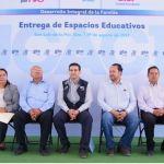 DIF Estatal Entrega Infraestructura Educativa en San Luis de la Paz