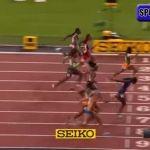 Gana medalla en el Mundial de Atletismo…. ¡por una nariz!