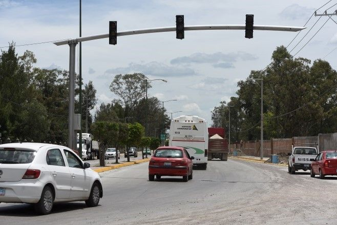 Photo of Abren a la vialidad un tramo del bulevar Solidaridad en la salida a Salamanca