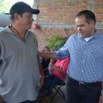 Samuel Amezola reitera apoyo a comunidades rurales