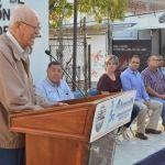 Banderazo de inicio a restauración del santuario de Guadalupe