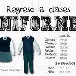 Regreso a clases: precios de uniformes escolares en tiendas de Irapuato
