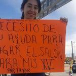 Chica juarense pide apoyo para la fiesta de sus XV años; en las redes unos la apoyan, otros la critican