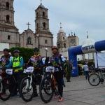 Más de 500  ciclistas participaron en Ruta Serrana de Independencia