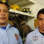 Jorge y Erick, bomberos y héroes irapuatenses