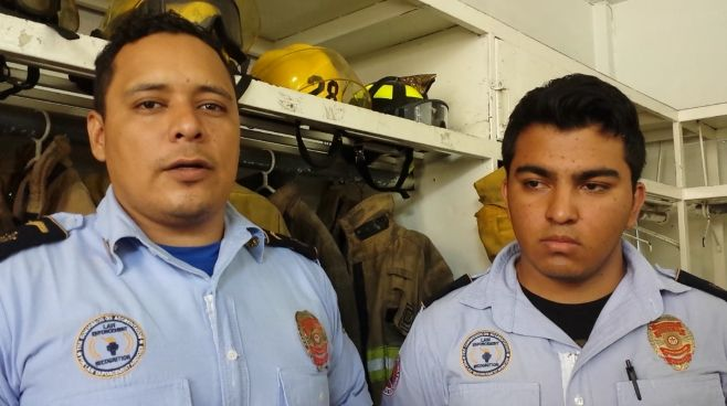 Photo of Jorge y Erick, bomberos y héroes irapuatenses