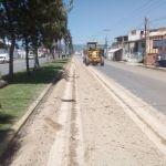 Arranca Alcalde rehabilitación de bulevar salida a Irapuato