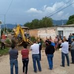 Inician obra de pavimentación y red de agua potable en colonia San Miguel