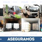 Desmantelan almacenes de combustible ilegal en Irapuato y Salamanca; aseguran vehículos, combustible y equipo de extracción