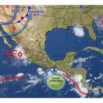 Se mantiene la probabilidad de tormentas acompañadas de lluvias fuertes durante las próximas horas en Guanajuato