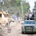 Supervisan avance de construcción de la Brigada Militar en Irapuato