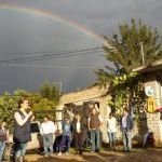 Comienza instalación de la red de agua potable y drenaje en la comunidad de Platanar
