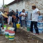 Inicia entrega de pintura en comunidades de Cuerámaro