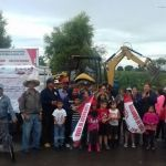 4 millones de pesos en el arranque a obras de infraestructura social