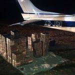 Encuentran avioneta cargada con valor de 50 millones de pesos en cocaína en Guanajuato