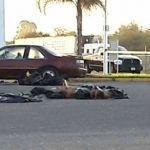 Abandonan 4 cuerpos desmembrados en gasolinera de Pénjamo