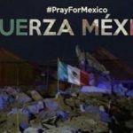 Famosos expresan apoyo a mexicanos tras sismo